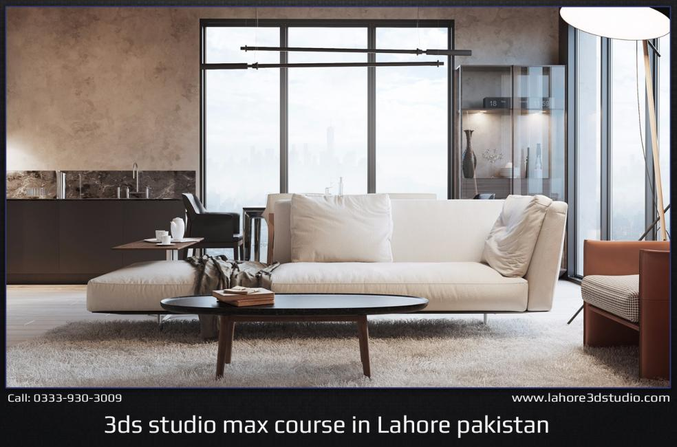 V-ray Interior Visualization Course In Lahore